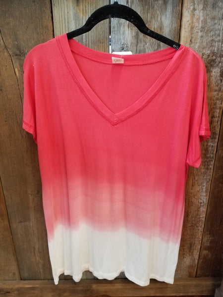 Red Ombre Tee
