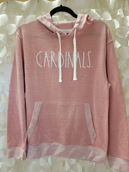 Cardinals Pink Lightweight Sweatshirt