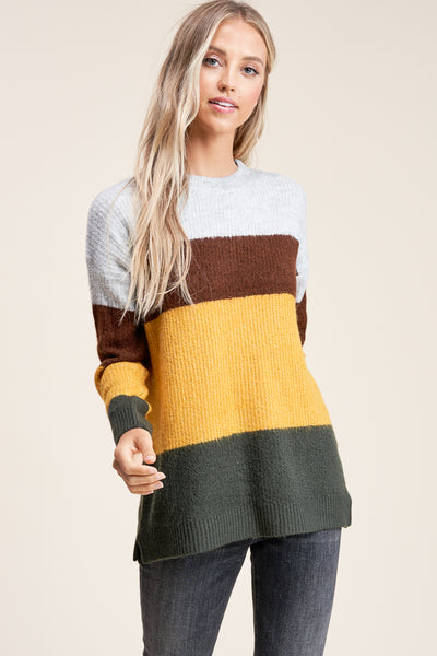 Fall Stripes Sweater