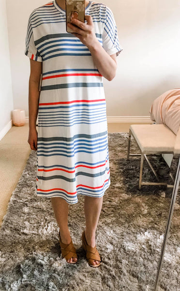 Fave Stripe Summer Dress