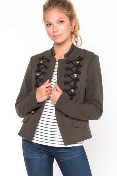 Hunter Button Blazer Jacket