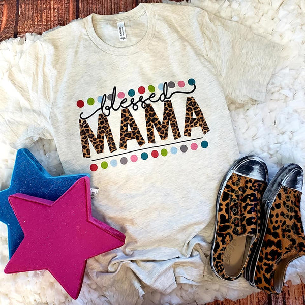 Pre-Order Blessed Mama Tee