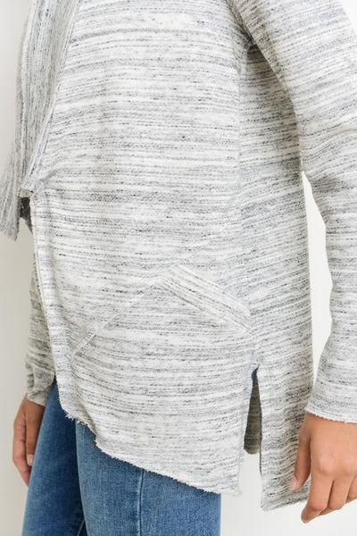 Grey French Terry Cardi