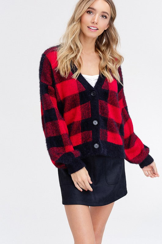 Buffalo Plaid Sweater