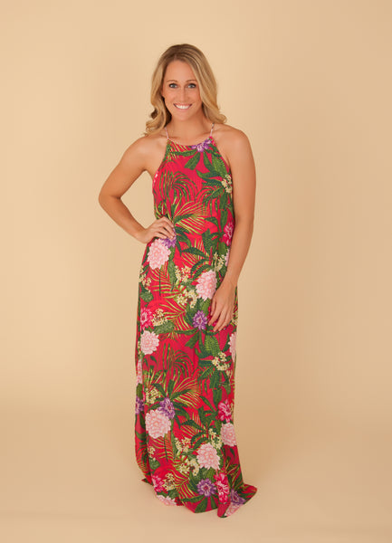 Fuchsia Tropical Maxi