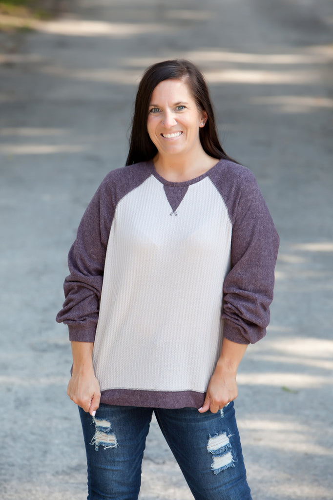 Ash Thermal Brushed Pullover