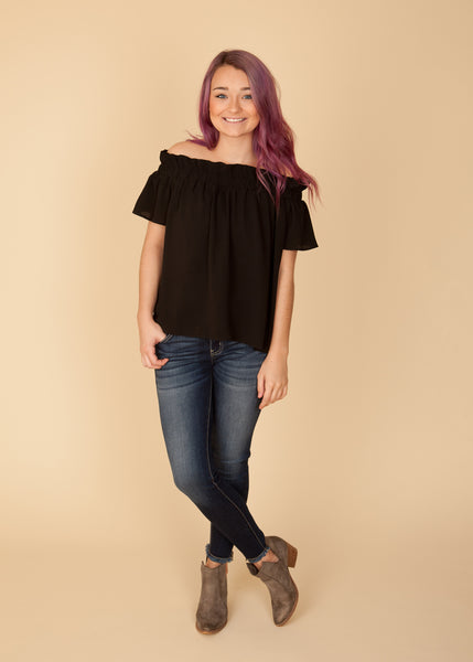 Black Kolbi Top
