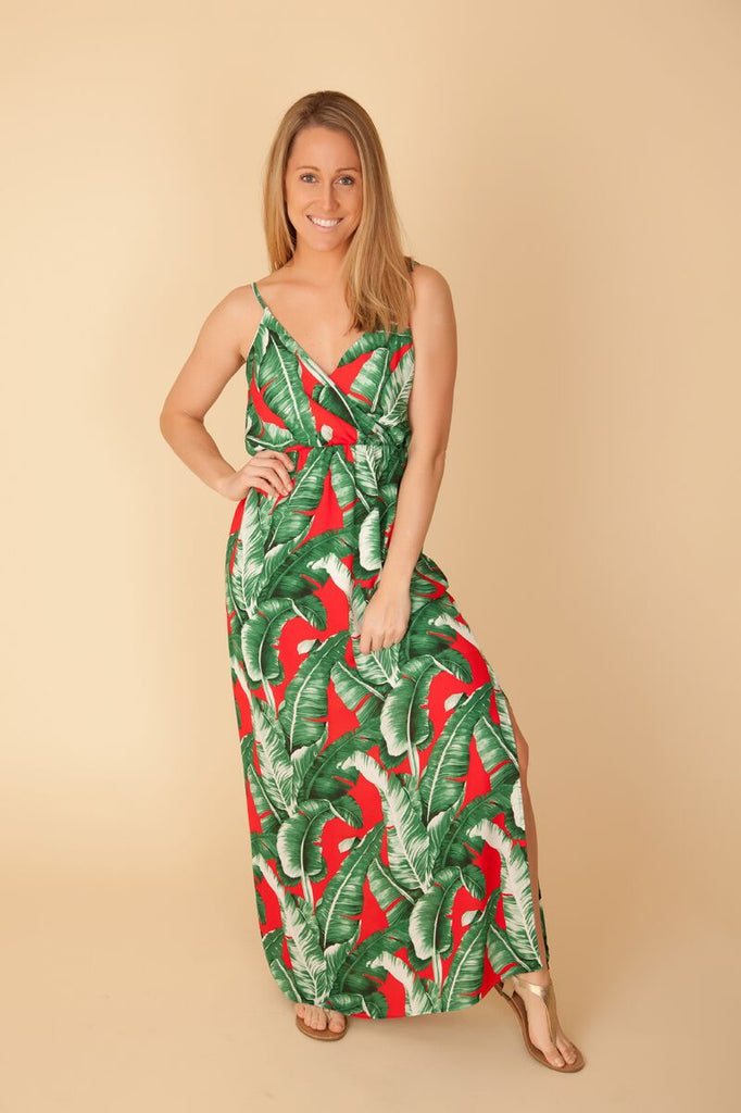 Red Palms Maxi