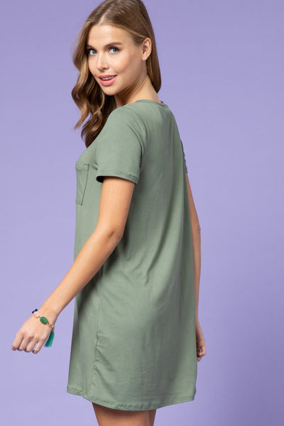 Army T-shirt Dress