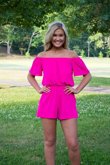 Pink Punch Romper