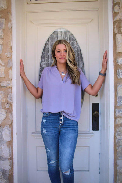 Lavender Everyday Top