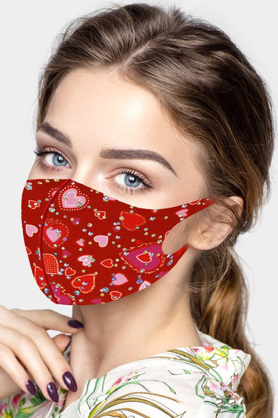 Heart Bling Mask