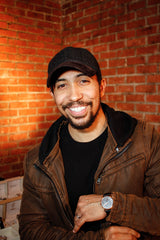 Neil Brown Jr. with JIUSKO watch