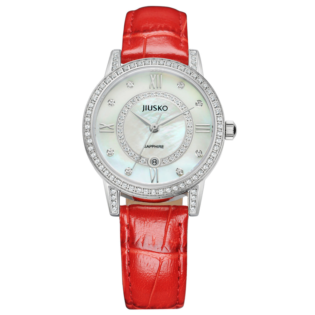 Jiusko Watch,Women's-Dress- Fashion- Stainless Steel- Quartz-50m-109S