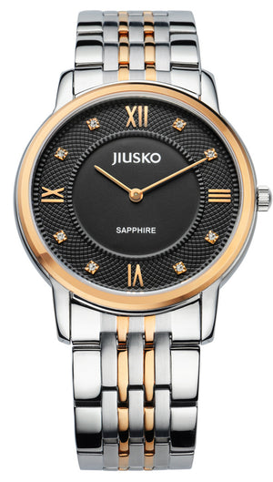 Jiusko Watch,Men's-Dress-Quartz-Two Tone Stainless Steel-30m-111MSRG02
