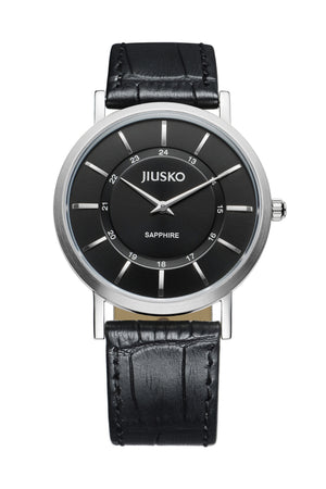 Jiusko Watch,Men's-Dress-Quartz-Leather-30m-112M0202