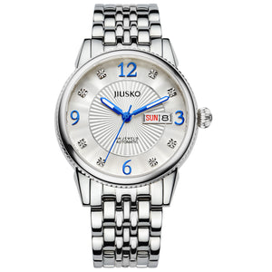 Jiusko Watch,Men's-Dress-Automatic-Stainless Steel-50m-118LS01
