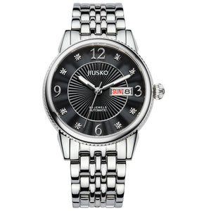 Jiusko Watch,Men's-Dress-Automatic-Stainless Steel-50m-118LS02