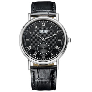 Jiusko Watch,Men's-Dress-Quartz-Leather-30m-132MS02
