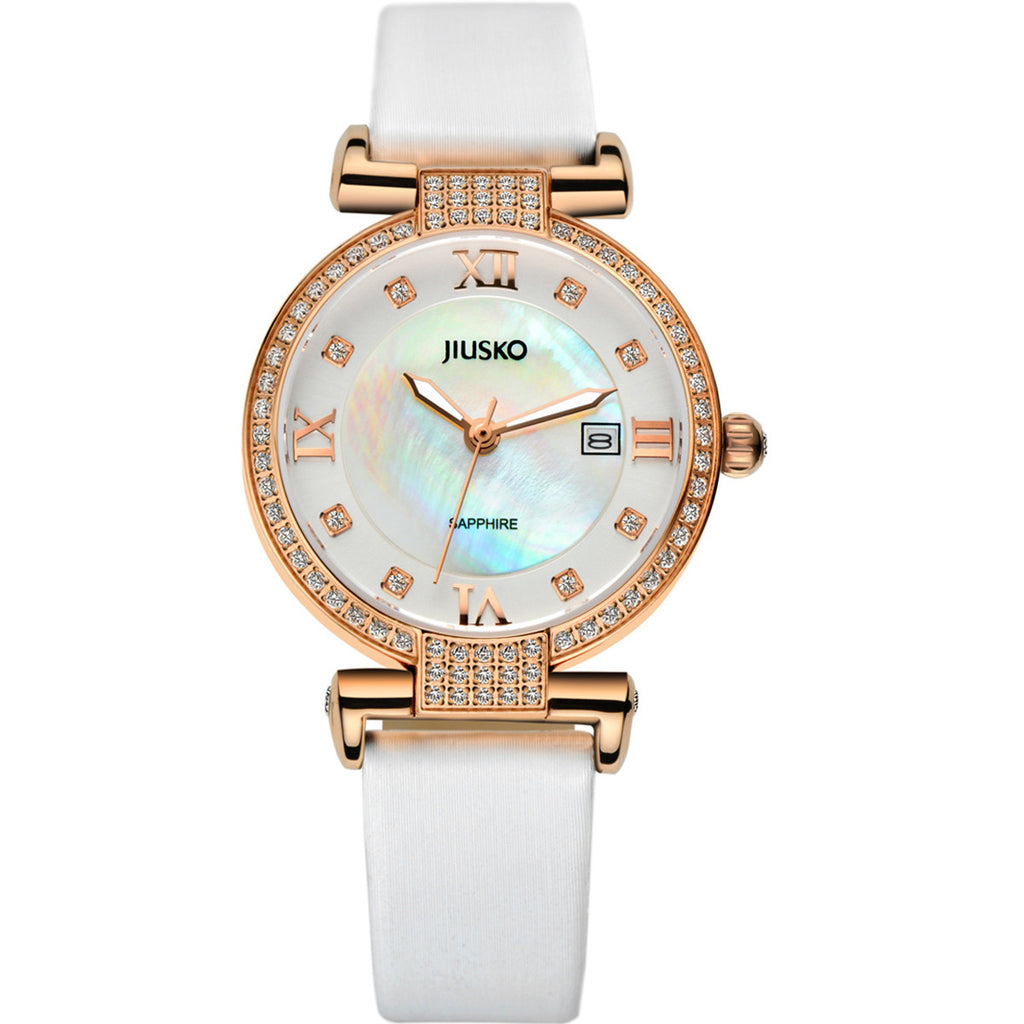 Jiusko Watch,Women's-Dress-Quartz-Leather-50m-133SRG0101