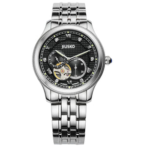Jiusko Watch,Men's-Dress-Fashion-Automatic-Stainless Steel-100m-151LS02