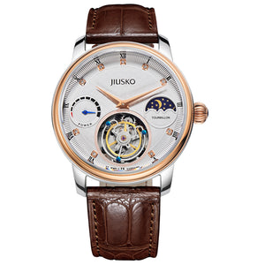 Men's, Dress, Tourbillon, Alligator-Leather, 100M, 168LSG0117