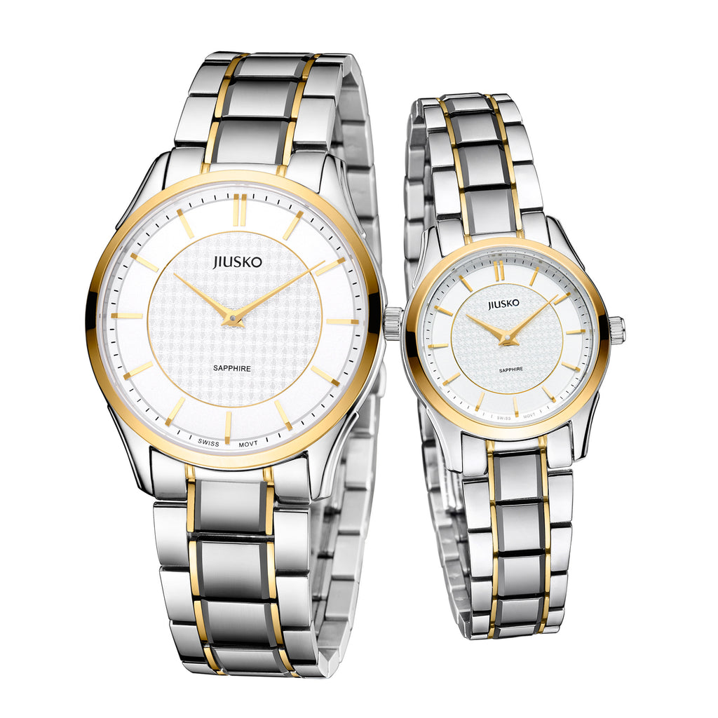 Couple, Dress, Quartz, Two Tone,Tungsten, 50M, 325LSAU1TTW