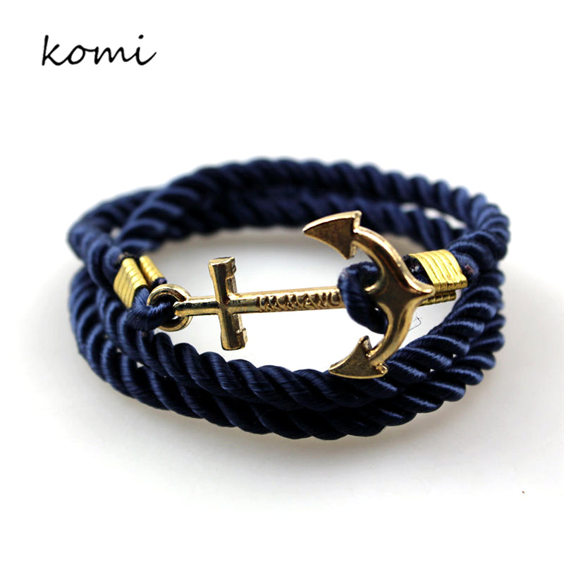 Anchor Bracelets New Arrival Vintage Retro Bracelets Fashion Jewelry Bracelet Men For Women Best Gift Tom Hope