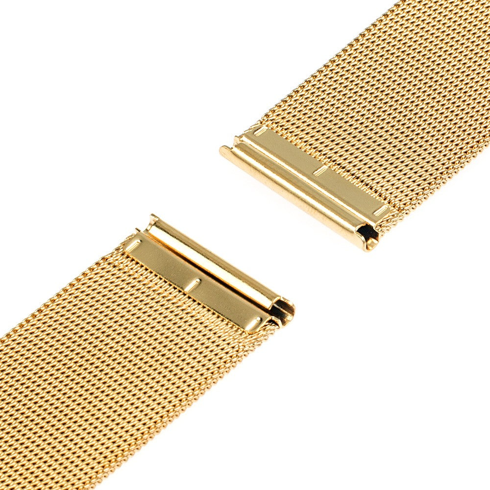 Milanese Watchband 16mm 18mm 20mm 22mm 24mm Universal Stainless Steel Metal Watch Band Strap Bracelet Black Rose Gold Silver