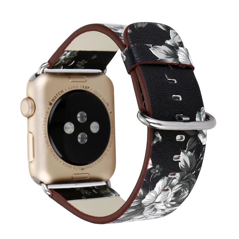 STYLISH LEATHER WOMENS STRAP FOR APPLE WATCH