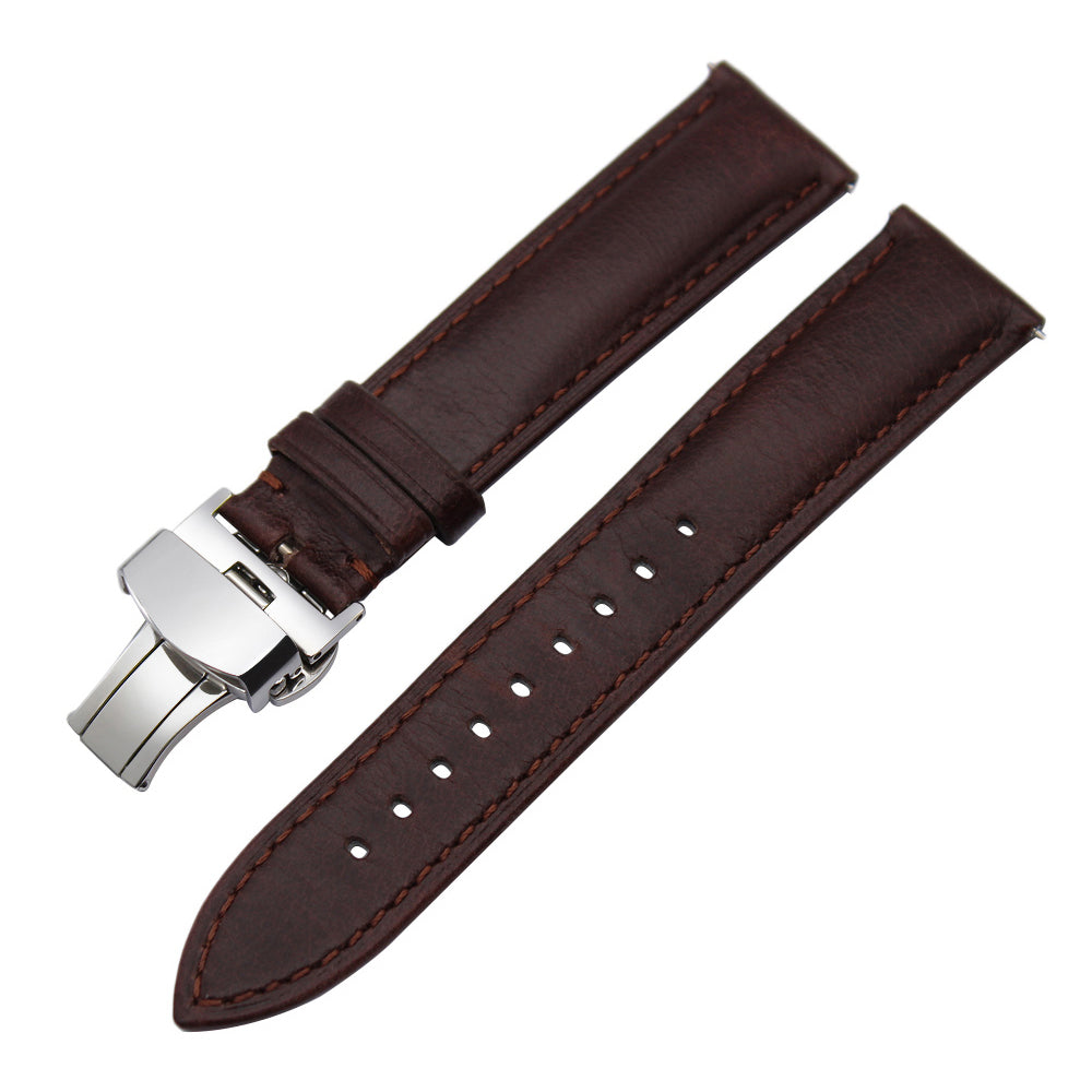 Italy Calf Genuine Leather Watchband Quick Release for Diesel DZ Fossil DW CK Timex Armani Watch Band Wrist Strap 18mm 20mm 22mm