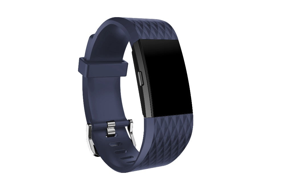 Small and Large Size silicone Watch Band For Fitbit Charge 2 Sport Watch Strap Bracelet men & women watchbands