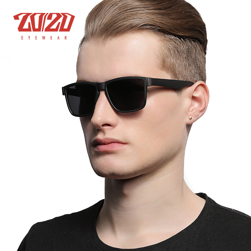 Classic Polarized Sunglasses Men Glasses Driving Coating Black Frame Fishing Driving Eyewear Male Sun Glasses