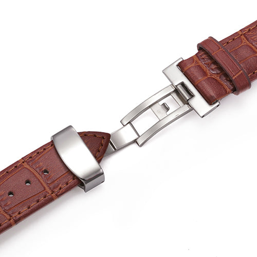 SMART LEATHER STRAP WITH FOLD-ABLE CLASP