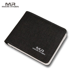 Men Male Wallet Fashion Casual Style Wallet Card Holders  Multi Pockets Purse for Men