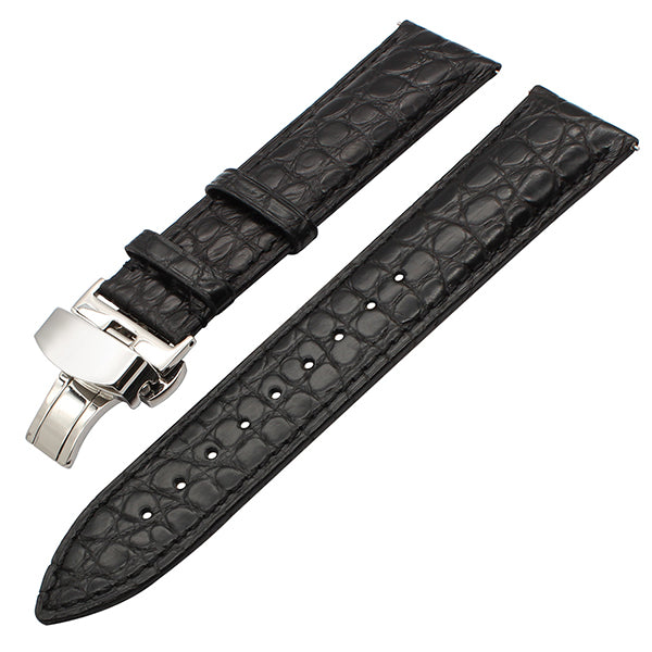 Genuine Alligator Leather Watchband for Orient Jacques Lemans Frederique Constant Watch Band Croco Strap Bracelet 18mm 20mm 22mm