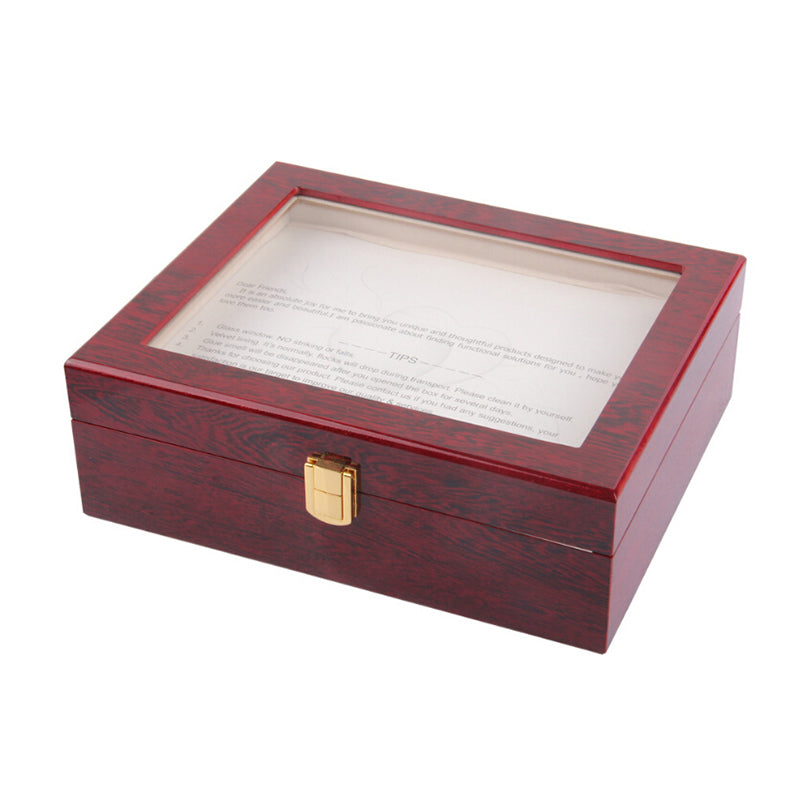 10 Slot Wood Watch display box