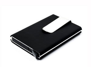 Men Credit card holder and for women, money cash clip Case and ID Card