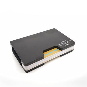 Slim Metal Credit Card Holder With RFID Anti-chief Mini Wallet For Men Women Card Holder Porte Carte Male Wallet Purse