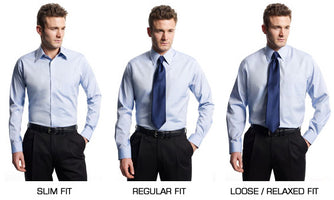 Men's Dress Shirt Style Guide – Choose the Best Fit, Collar, & Cuffs for Your Shirts.