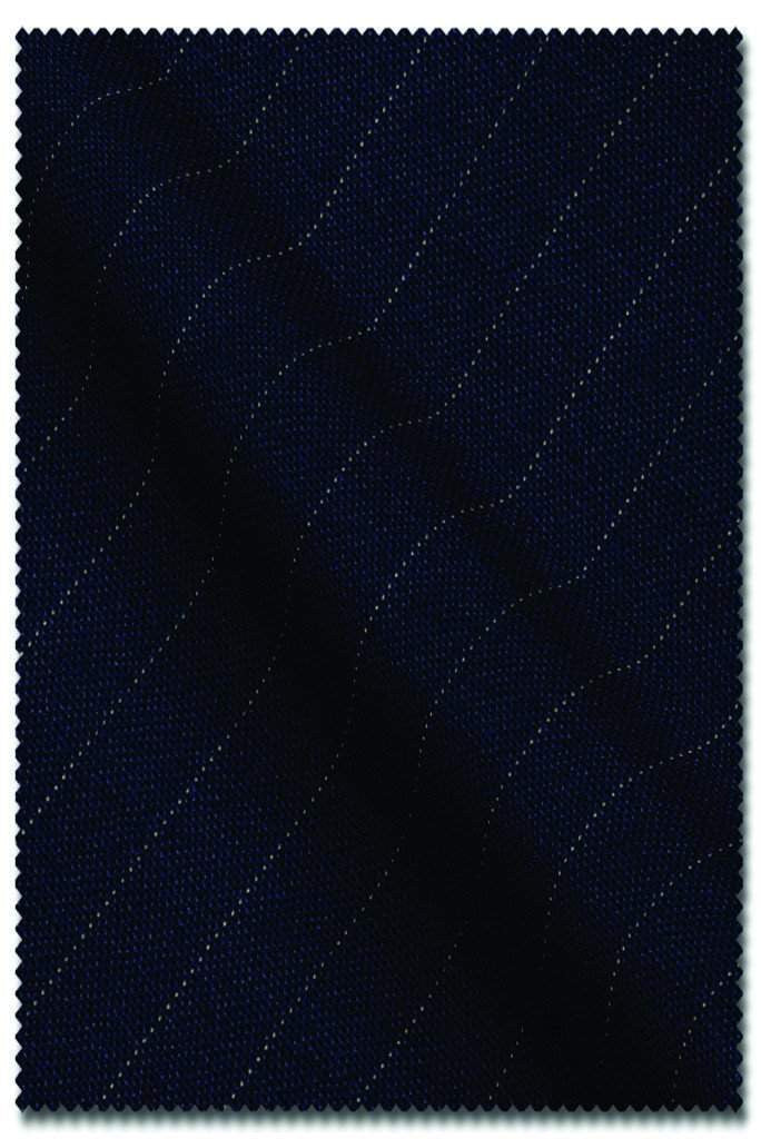 Navy Pin Stripe