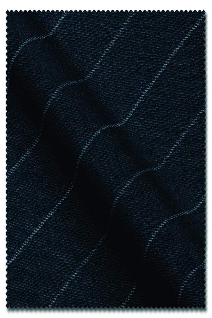 Charcoal Chalk Stripe