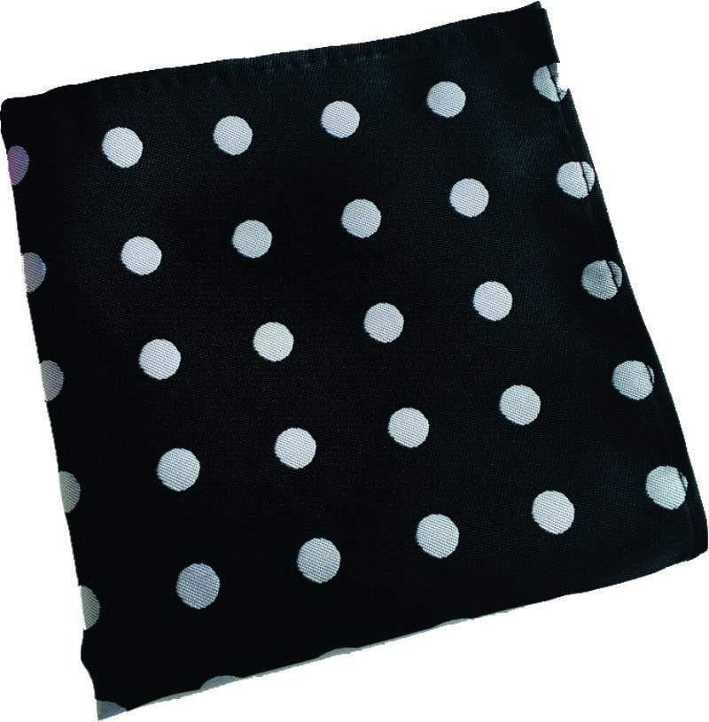 Black Dotted Handkerchief