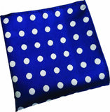Blue Dotted Handkerchief