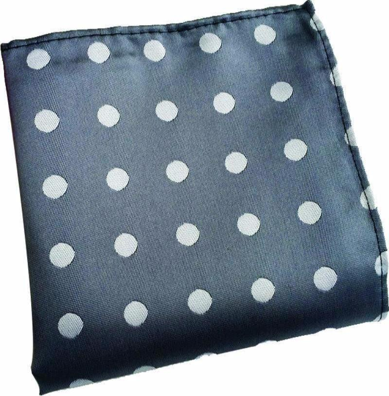 Grey Dotted Handkerchief