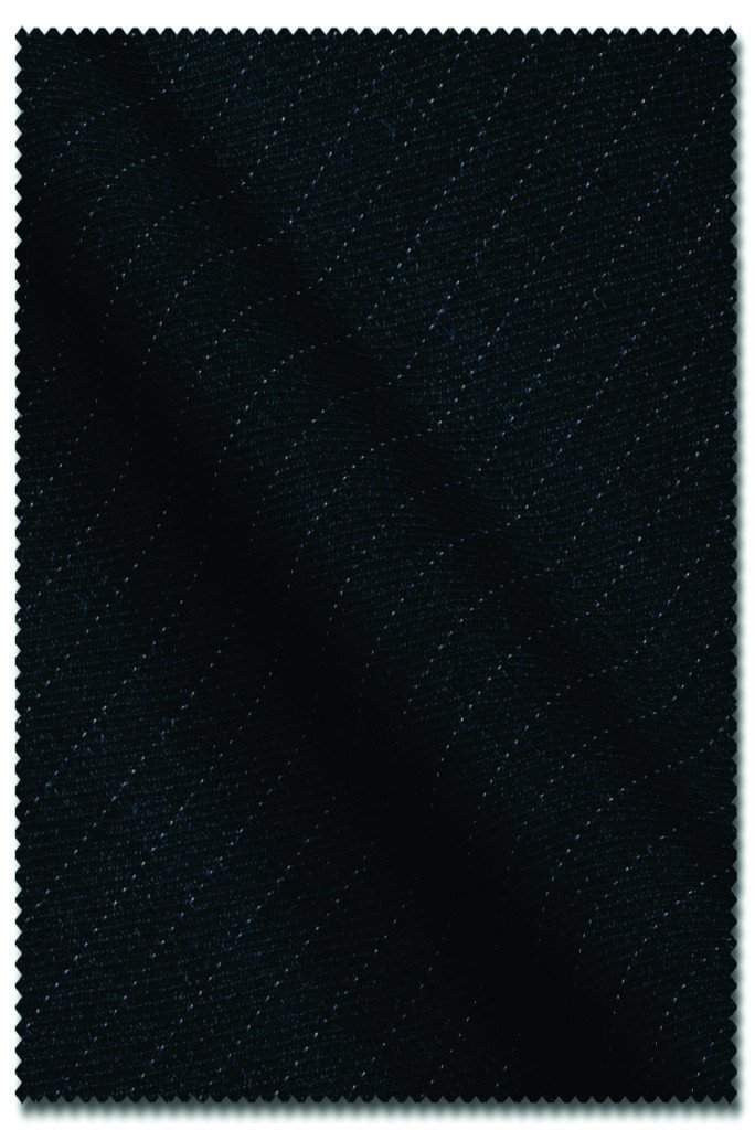 Charcoal Pin Stripe