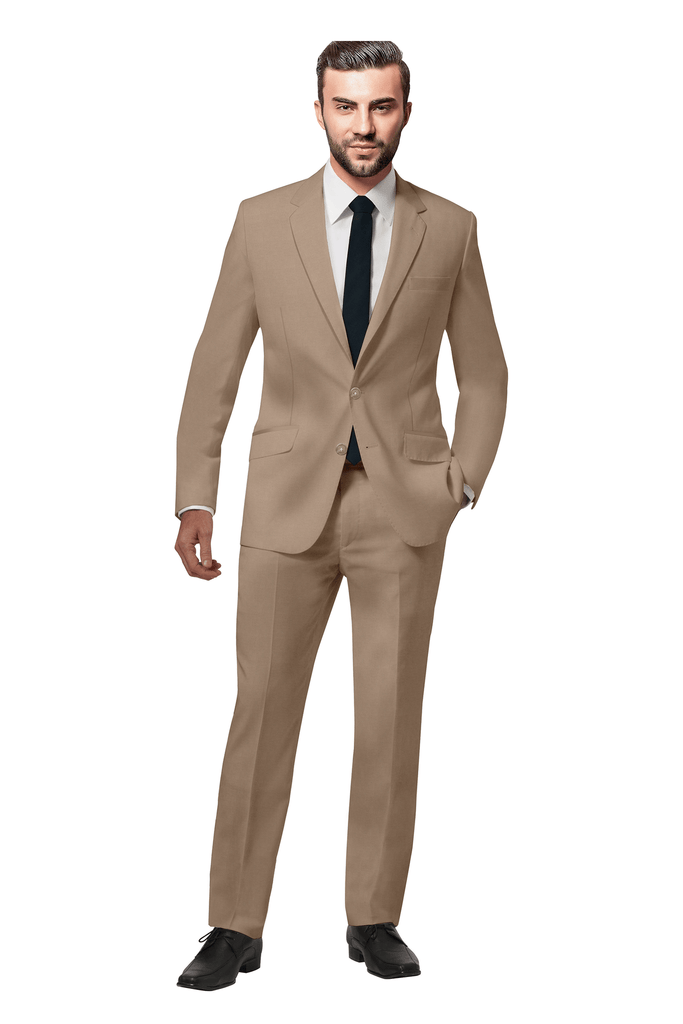 Miami Tan Suit