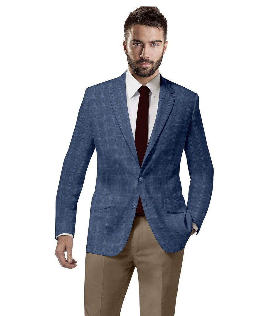 Blue Checks Sports Jacket