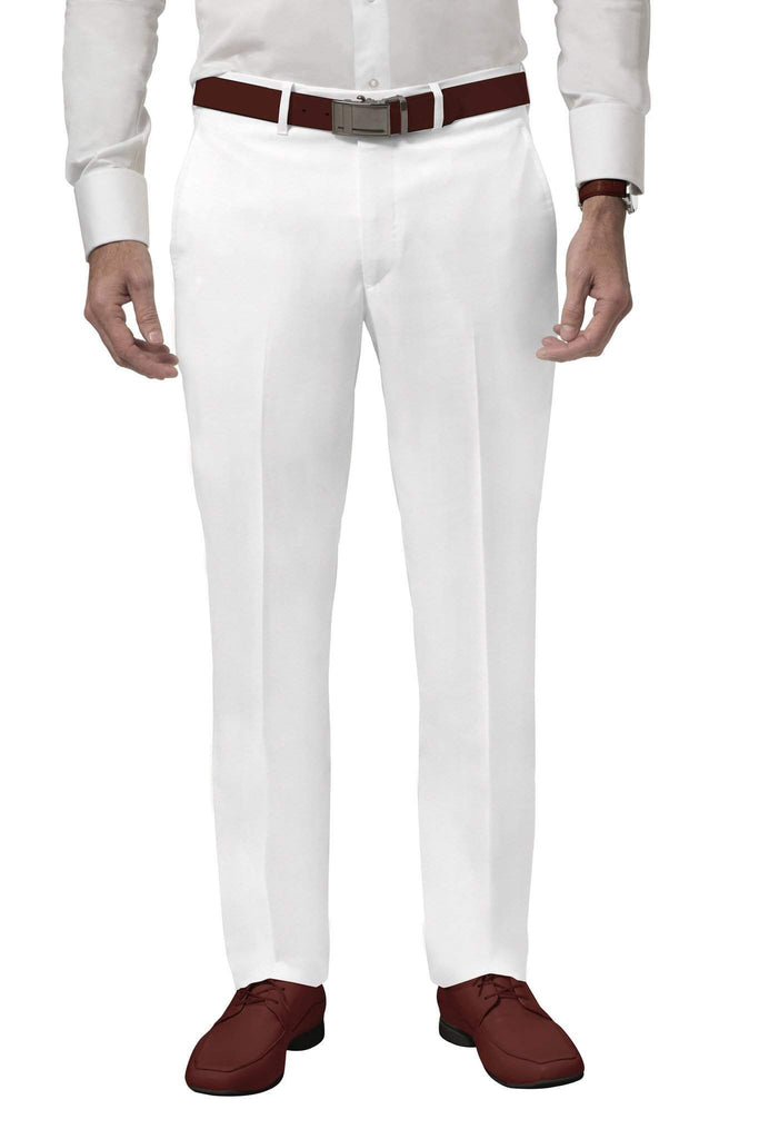 White Golf Pants