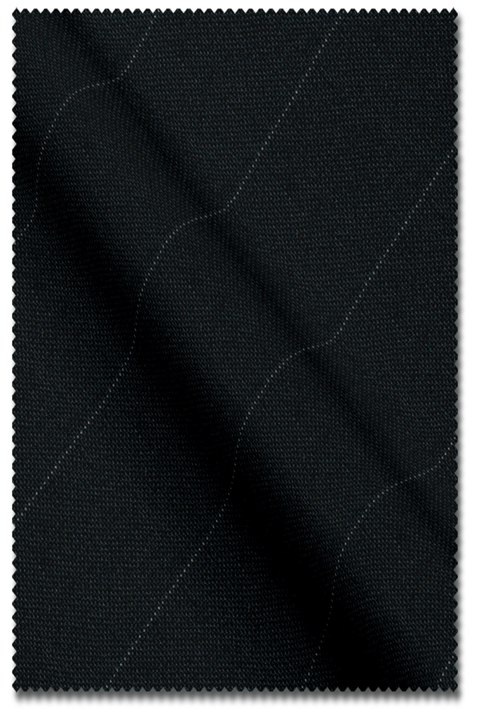 Black Pin Stripe